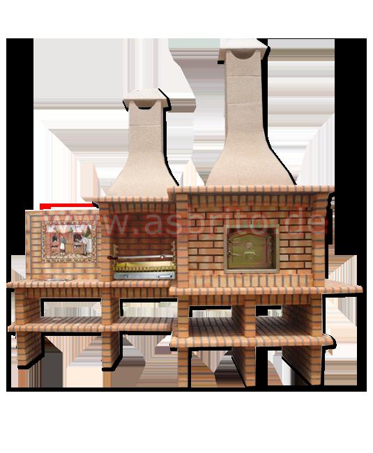 grillkamin mit ofen. Black Bedroom Furniture Sets. Home Design Ideas
